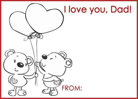 A sweet card for someone you love to say, Happy Valentine ...