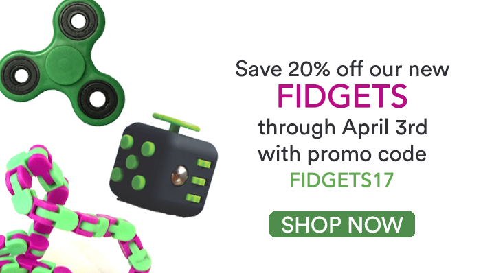 Fidgets New Items POW E-mailer