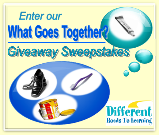 What Goes Together? App Giveaway Sweepstakes - Different Roads to