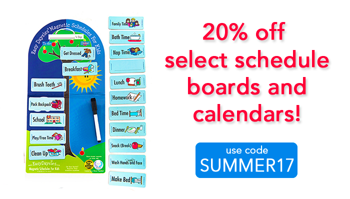 this week only take 20 off items to keep kids on schedule all summer long