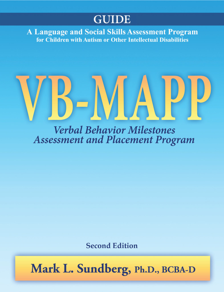 VB-MAPP Guide 2014 Cover.indd